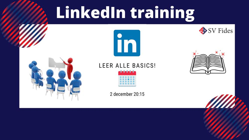 SV Fides presents: LinkedIn training