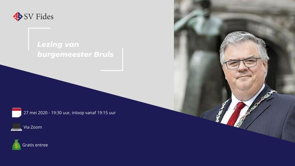 Lezing van burgemeester Bruls