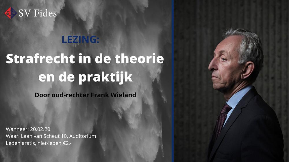 Lezing Frank Wieland