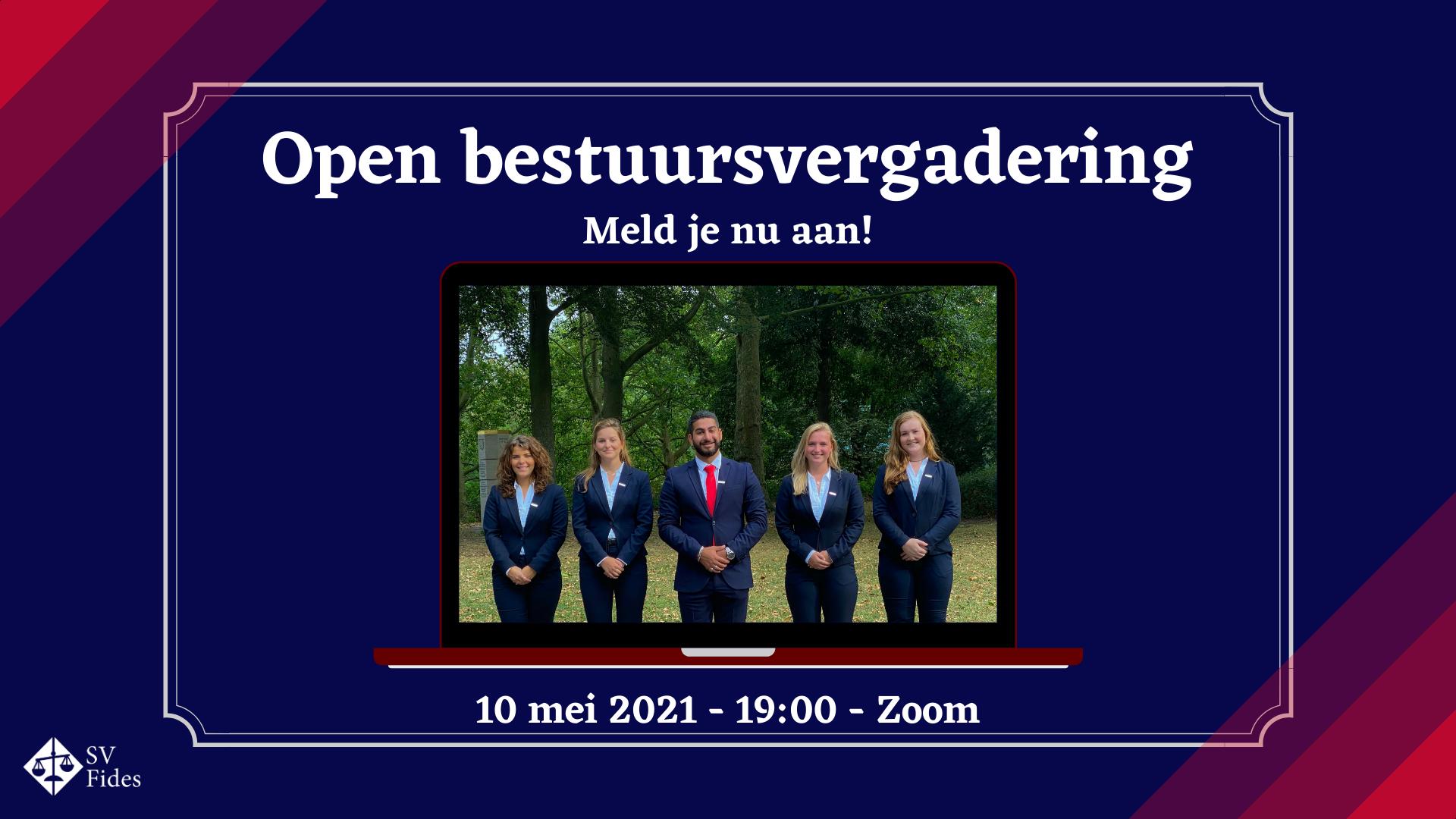 Open bestuursvergadering