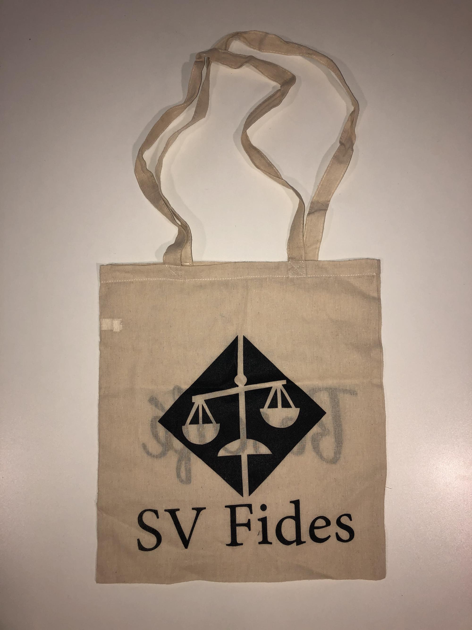 SV Fides tasje, beige